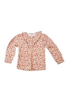 Zeyland Kız Çocuk Cicekli T.Shirt Bis.Yaka K-42M534hgs67