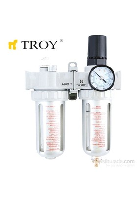 Troy 18622 Şartlandırıcı (Filtre + Regülatör + Yağlayıcı) 1/2(N)Pt