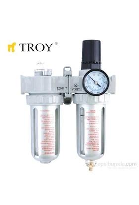 Troy 18624 Şartlandırıcı (Filtre + Regülatör + Yağlayıcı) 1/4(N)Pt
