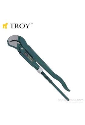 """Troy 21010 Maşalı Boru Anahtarı - İsveç Modeli (1"""")"""