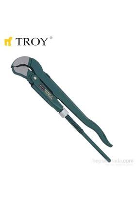 """Troy 21020 Maşalı Boru Anahtarı - İsveç Modeli (2"""")"""