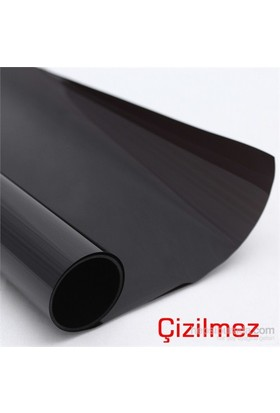 Mastercare Çizilmez Koyu Siyah Cam Filmi ( 50 Cm X 6 Mt - 3 Metrekare ) 090113