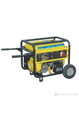 Aksa AAP-8000E3 Benzinli Trifaze Jeneratör 8kVA (4 Zamanlı Motor)