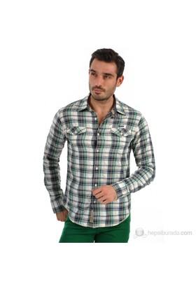 Tommy Hilfiger Erkek Glider Gömlek Yeşil