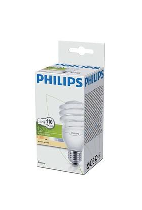 Philips 23 W E27 Economy Sarı Tasarruflu Ampul