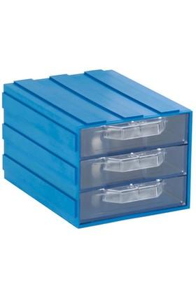 Sembol 302-3 Plastik Çekmeceli Kutu