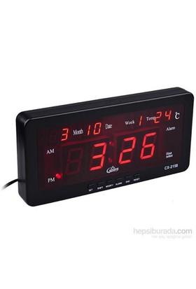 Watton Led Dijital Saat Tarih Alarm Sıcaklık 091186