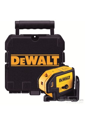 Dewalt Dw085k Otomatik Lazer Distomat 5 Işınlı Aşağı/Yukarı/Öne/Sağa/Sola 25m