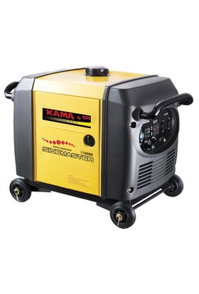 KAMA IG3000 Dijital,Benzinli,Tekerlekli 3 kVA Jeneratör