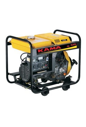 KAMA KDE6500E Aküsüz Dizel Jeneratör 5 kVA