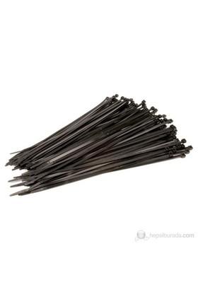 Tork Klamps 250 X 4.8 Mm Kablo Bağı-Cırt (100'Lü Paket) Siyah