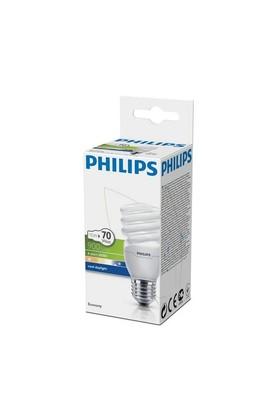 Philips EconomyTwister 15W Beyaz Işık E27 Normal Duy