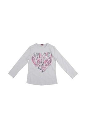 Zeyland Kız Çocuk Beyaz S-Shirt K-52Z4fav62