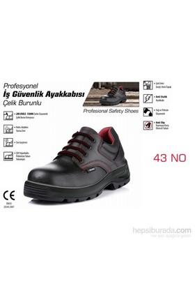 SGS Çelik Burunlu İş Güvenlik Ayakkabısı 43 NO 090384