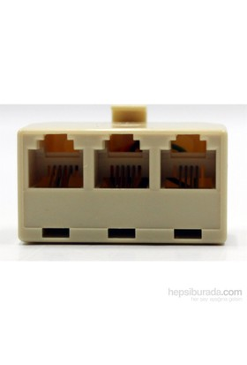 HomeCare 3 lü İnternet Ara Soketi 091808