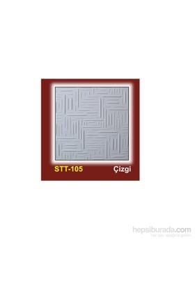 Stropiyertavan Kaplama 50X50 Cm Çizgi Modeli