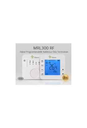 İn-Therm MRL-300 RF TM Dijital Kablosuz Oda Termostatı