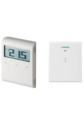 Siemens RDD 100,1 RF Kablosuz Dijital Günlük Programlanabilir Oda Termostatı