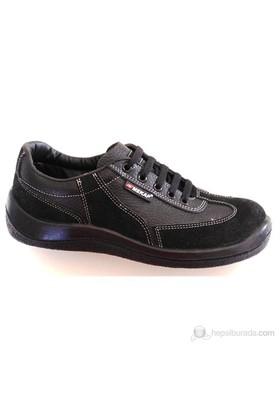 Mekap Klasik İş Güvenlik Ayakkabısı 45 Numara (Çelik Burunsuz)