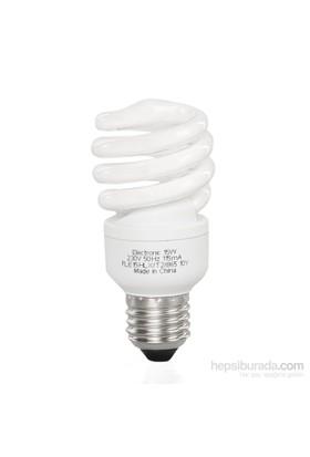 General Electric 15W Spiral Enerji Tasarruflu Ampul Sarı