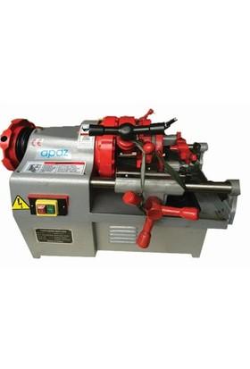 Apaz P50 Elektrikli Tezgah Tipi Pafta Makinesi 1/2-2''
