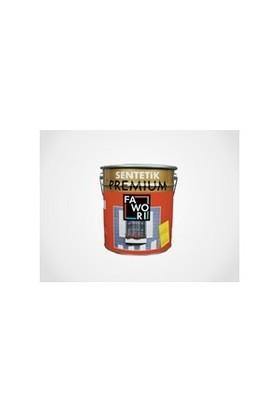 Fawori Premium Sentetik Yağlı Boya 2,5Lt Siyah