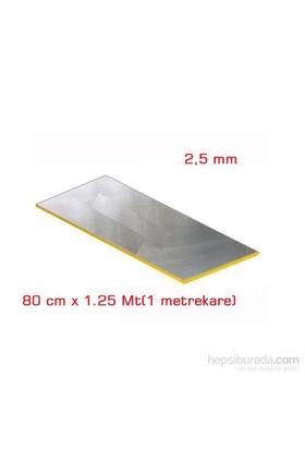 MasterCare Polimer ALİMİNYUMLU SES Yalıtımı Levhası 2.5 mm 80 cm x 1.25 Mt(1 metrekare)