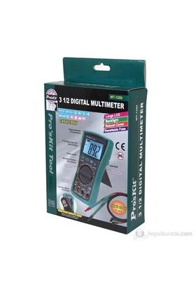 Pro's Kit Mt-1280 3 1/2 Dijital Multimetre