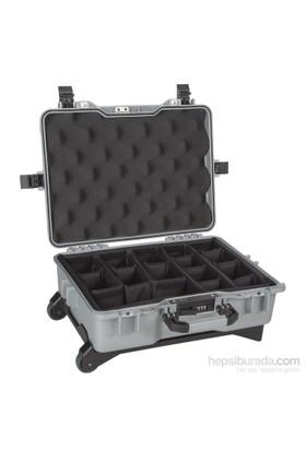 Mano Mtc 430P Gri - Yumurta Sünger + Bez Bölmeli Tough Case Pro Takım Çantası