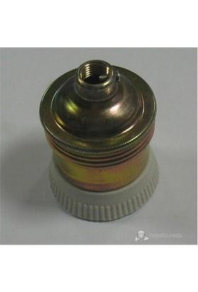 Tek-İş - Duy E-27 Bronz Tipi Metal
