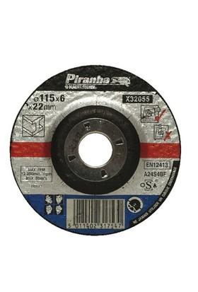 Piranha X32055 Bombeli Metal Taşlama Diski