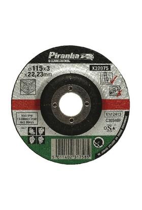 Piranha X32075 Bombeli Taş Kesme Diski