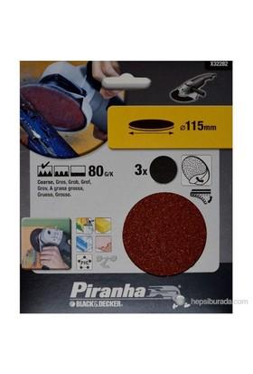 Piranha X32282 Taşlama İçin Kendinden Yapışkanlı Zımpara Diski 115Mm