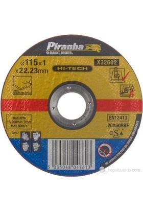Piranha X32622 Düz Alüminyum Kesme Diski 115X1.6 Mm