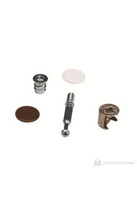 Minifix Set Metal Dübelli 8'Li