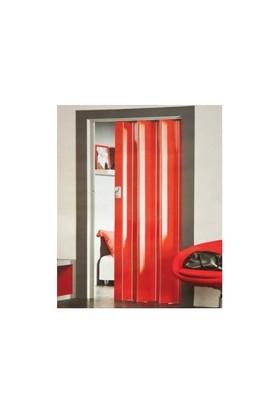 High Glass Akordeon Kapı Kırmızı