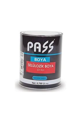 Pas S Selülözik Siyah Boya 750 Ml 091655