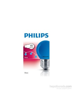 Philips Party 15W E27 220-240V P45 Re 1Ct/10X10f
