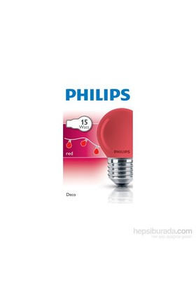 Philips Party 15W E27 220-240V P45 Bl 1Ct/10X10f