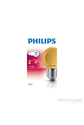 Philips Party 15W E27 220-240V P45 Or 1Ct/10X10f