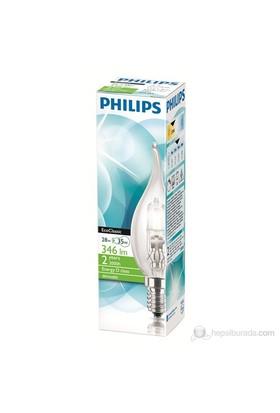 Philips Ekoklasik 28W E14 Bxs35 Cl - Sarı Işık