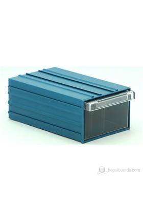 Sançelik 120 Plastik Çekmeceli Kutu (20 Adet)