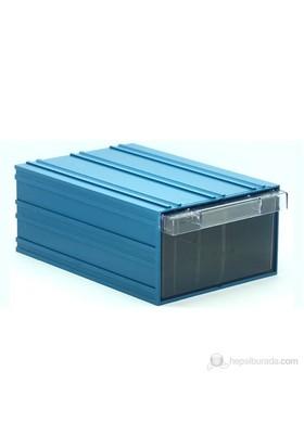 Sançelik 501 Plastik Çekmeceli Kutu (9 Adet)
