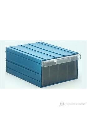 Sançelik 510 Plastik Çekmeceli Kutu (6 Adet)