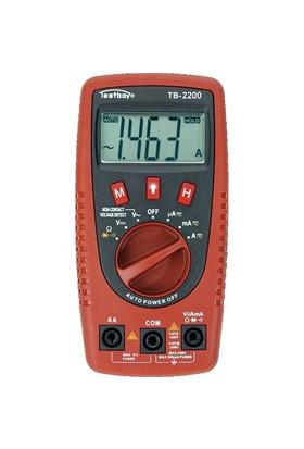 Testboy Dijital Multimetre
