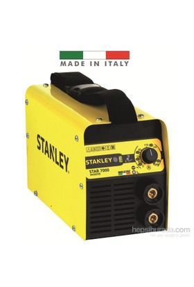 Stanley STAR7000 200 Amper Inverter Kaynak Makinası
