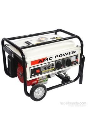 Amc Power Bt-3800 3,5 Kva Benzinli Jeneratör (Tekerlekli)