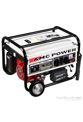 Amc Power Bt-3800 Le 3,5 Kva Benzinli Jeneratör Marşlı(Tekerlekli)