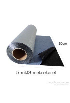 MasterCare SES Yalıtım Rulosu 1,5 mm 60 cm x 5 Mt (3 metrekare) f60455