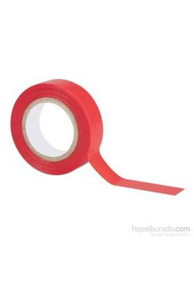 Geko İzolasyon Bantı - Kırmızı 15Mm X 10M